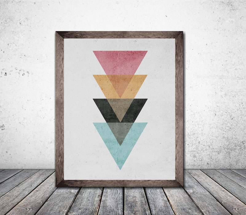 50+ Wall Art Ideas – Make A Modern Statement With Abstract ...