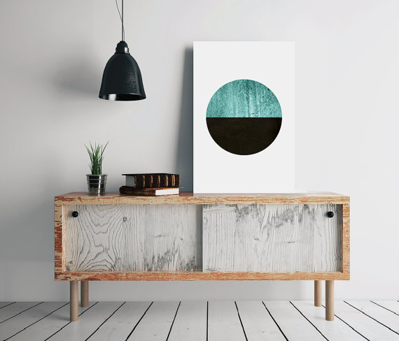 50 Wall Art Ideas Make A Modern Statement With Abstract