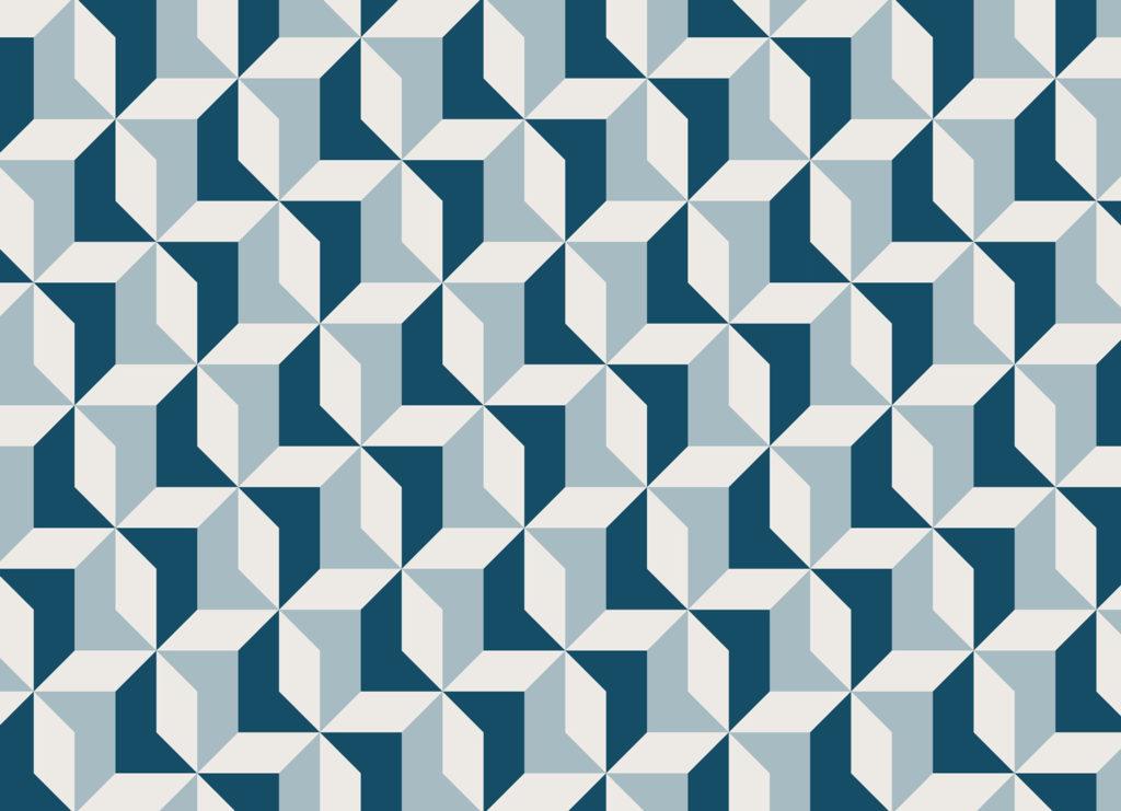 Geometrical flooring texture
