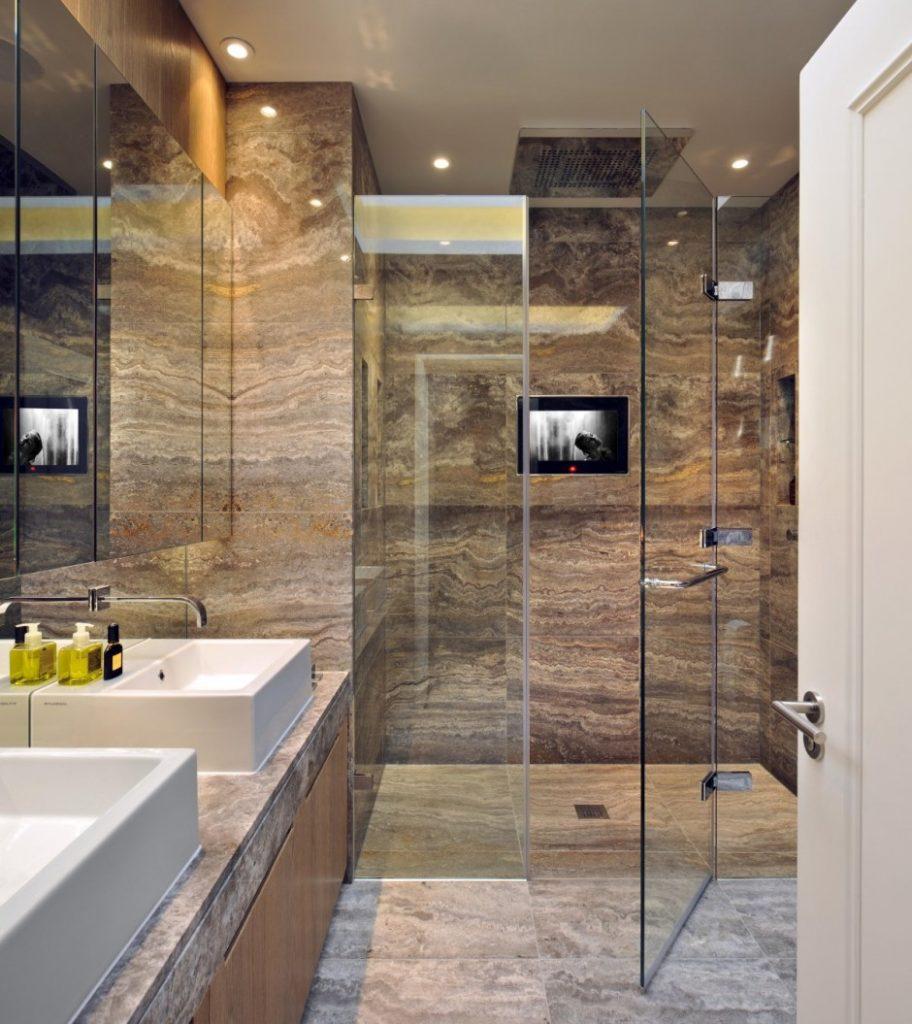 100 marble bathroom designs ideas the architects diary for Bathroom designs marble