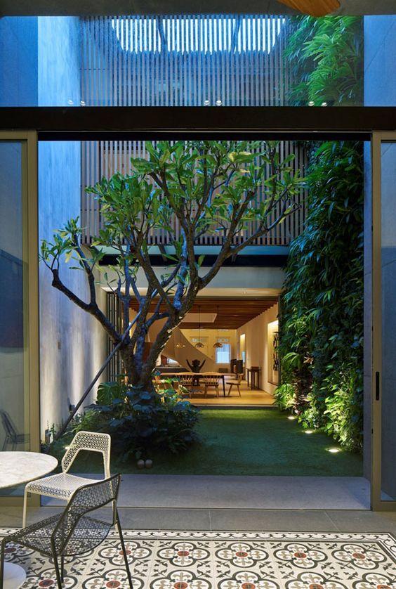 Indoor Courtyard Garden