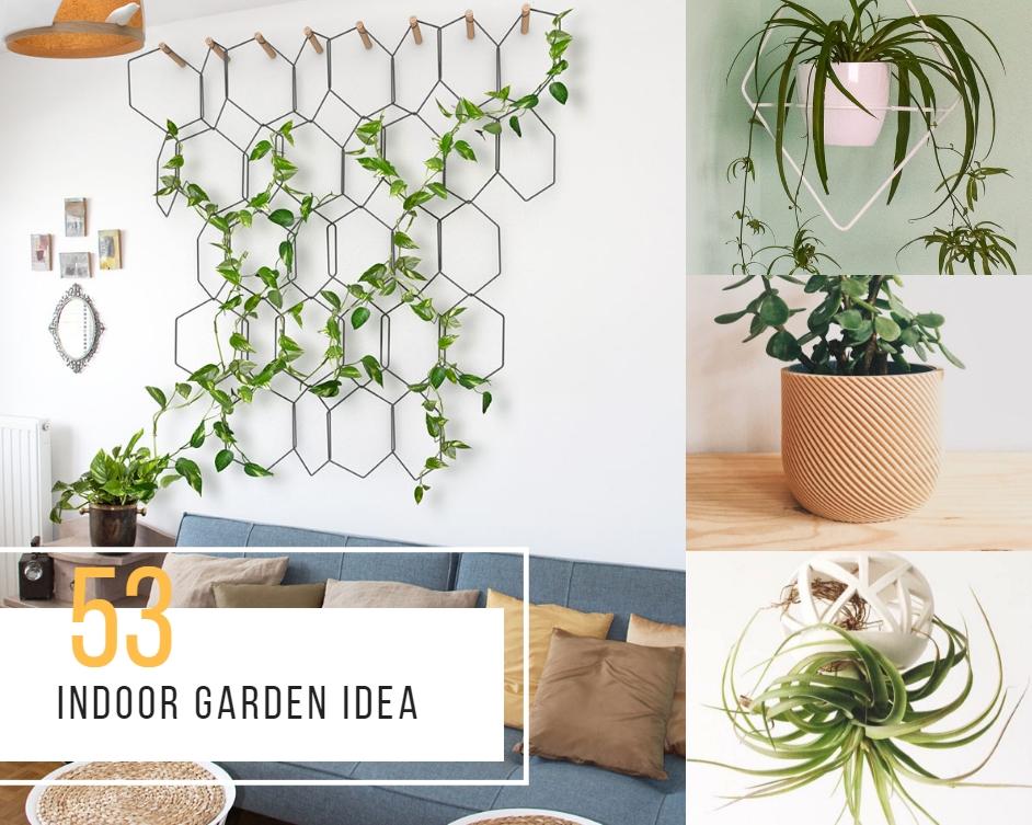 53 Indoor Garden Idea Hang Your Plants From The Ceiling Walls