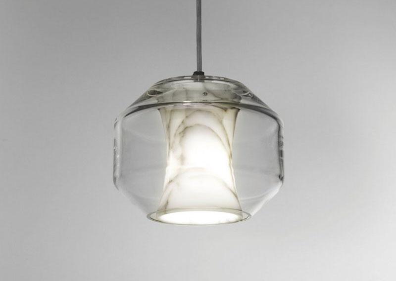 Marble light fixtures