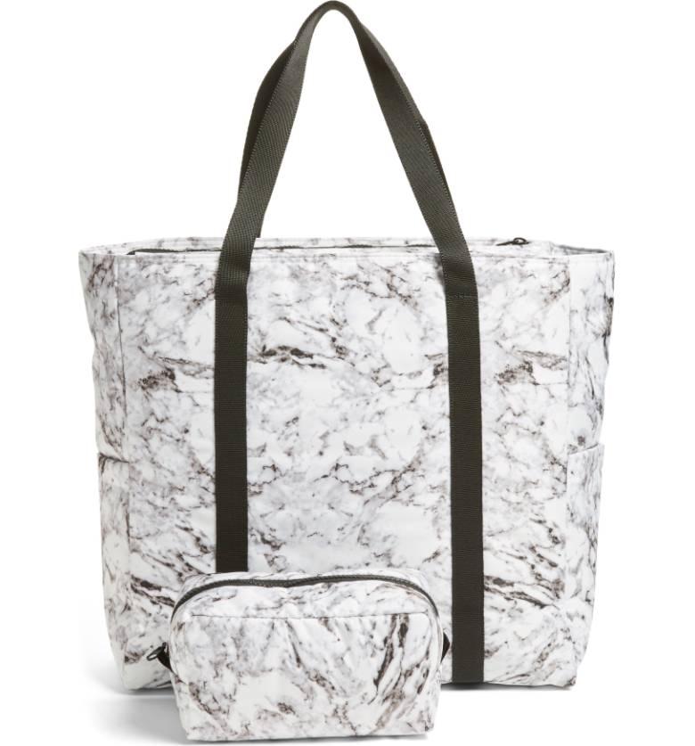 Marble handbag
