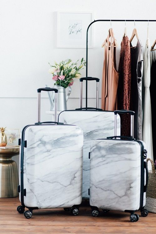 Marble travelbag