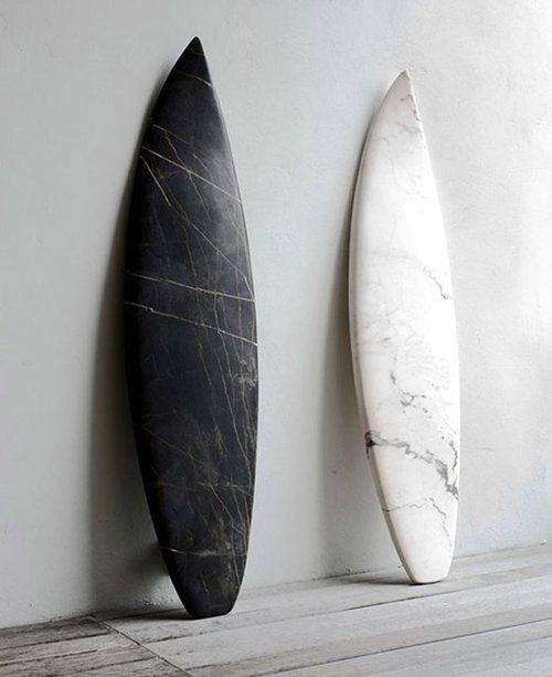 Marble surfboard