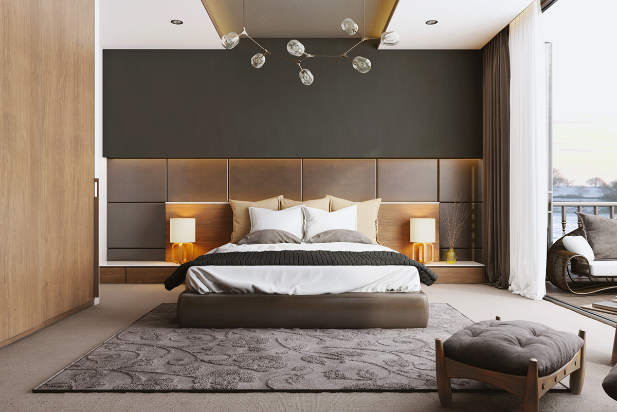 100 modern bedroom design inspiration the architects diary for Bedroom design inspiration
