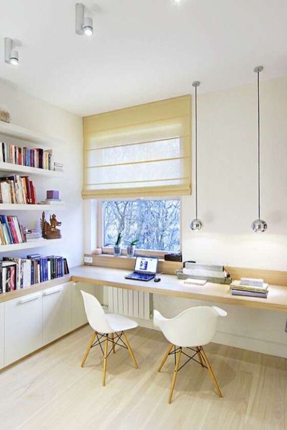 50 Home Office Space Design Ideas For Two People The