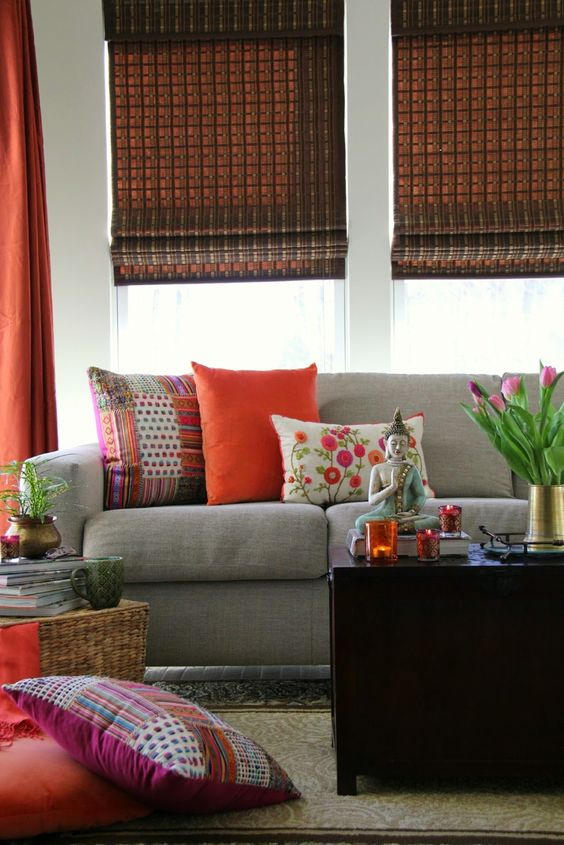 50 indian interior design ideas the architects diary for Simple living room designs in india