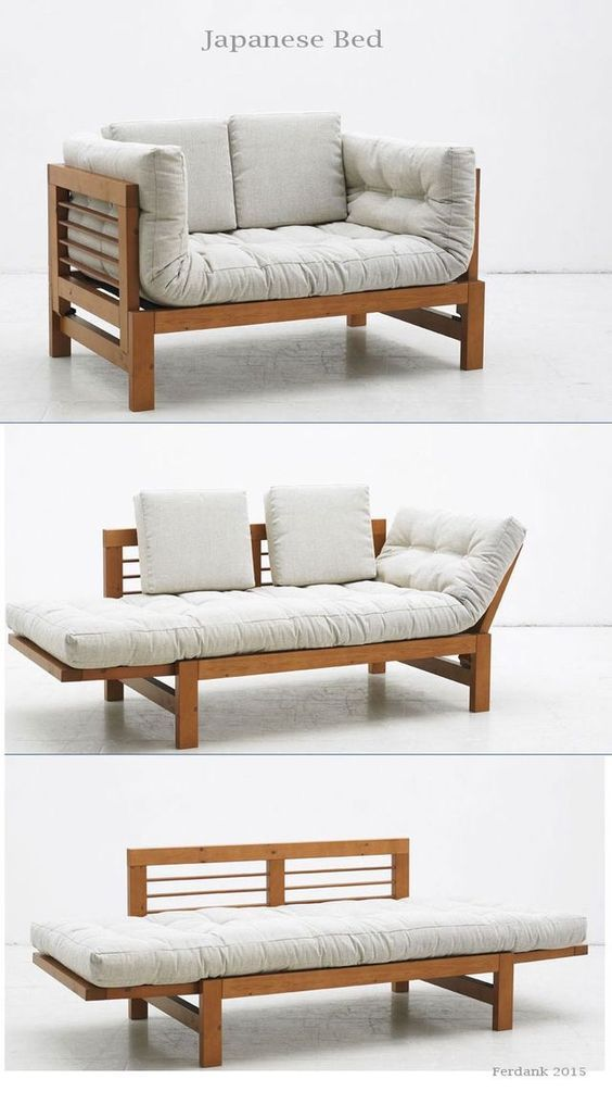 25 multi functional furniture design inspiration the for Sofa cama con cajones