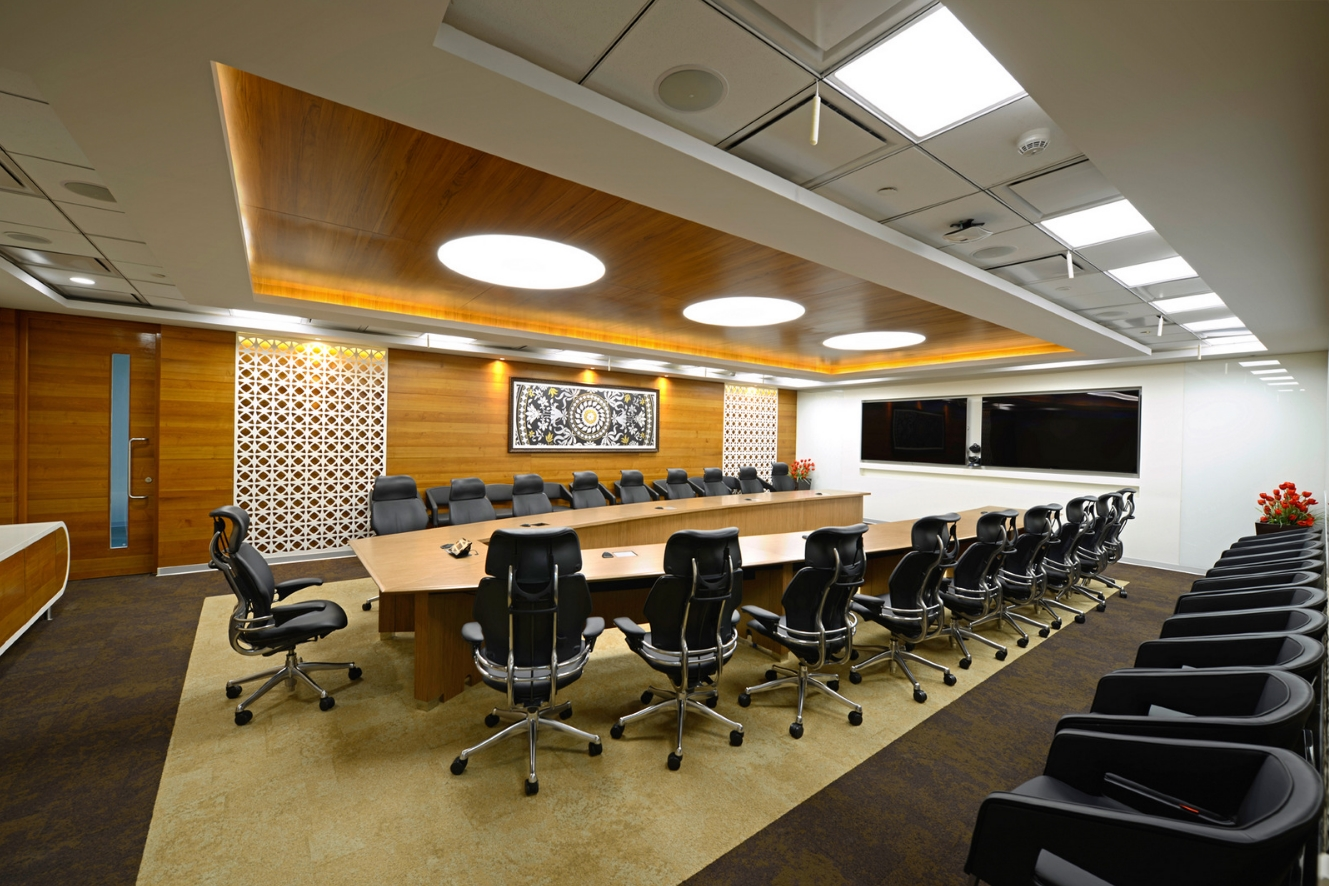 Nizam culture reflects in office decor of pegasystems for Office interior design india
