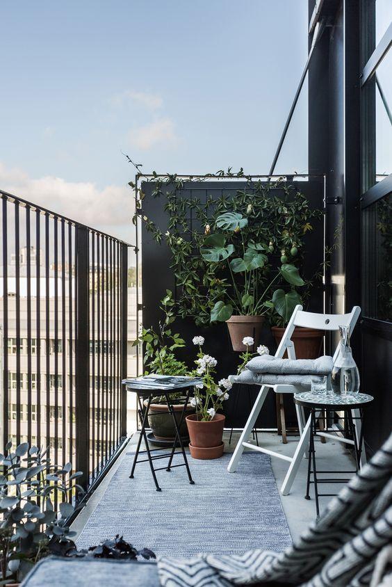 Small Balcony Wall Decor
