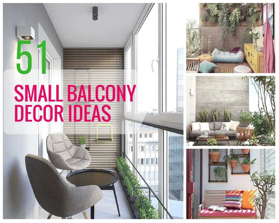 51 Small Balcony Decor Ideas - The Architects Diary