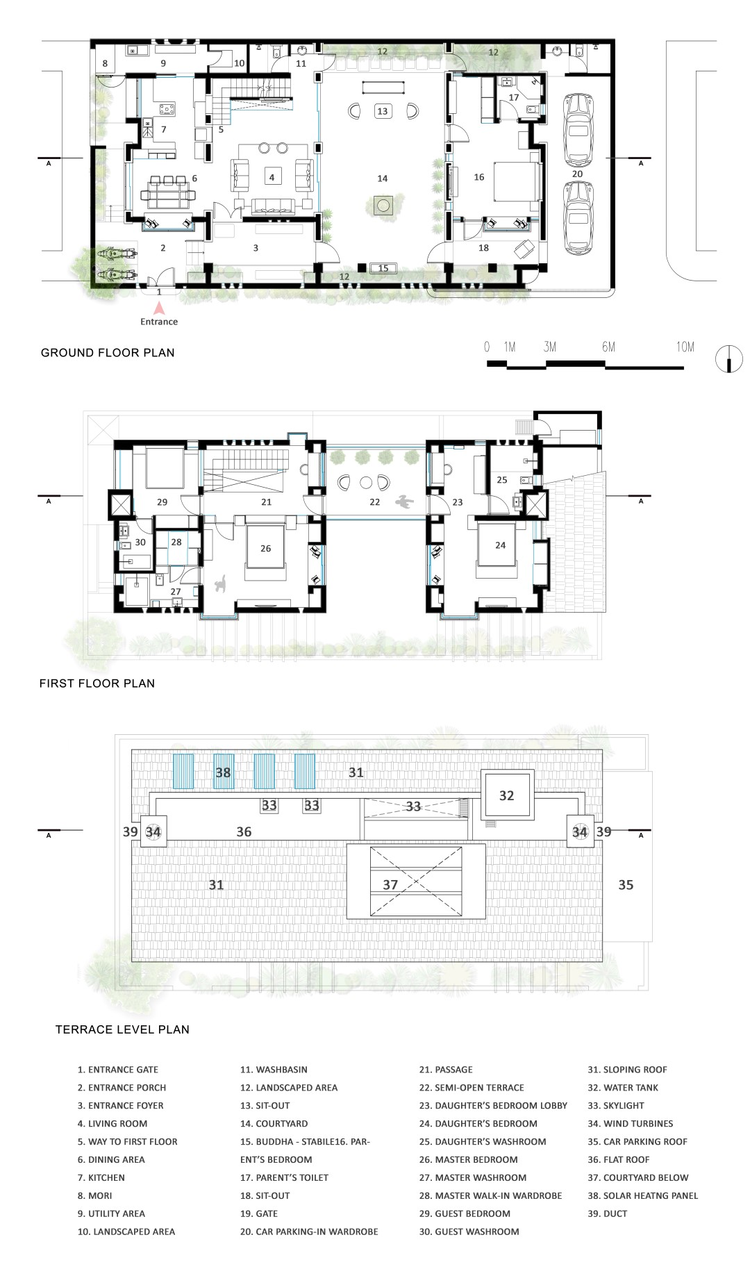 Courtyard house ahmednagar tao architecture the for Architectural design problems