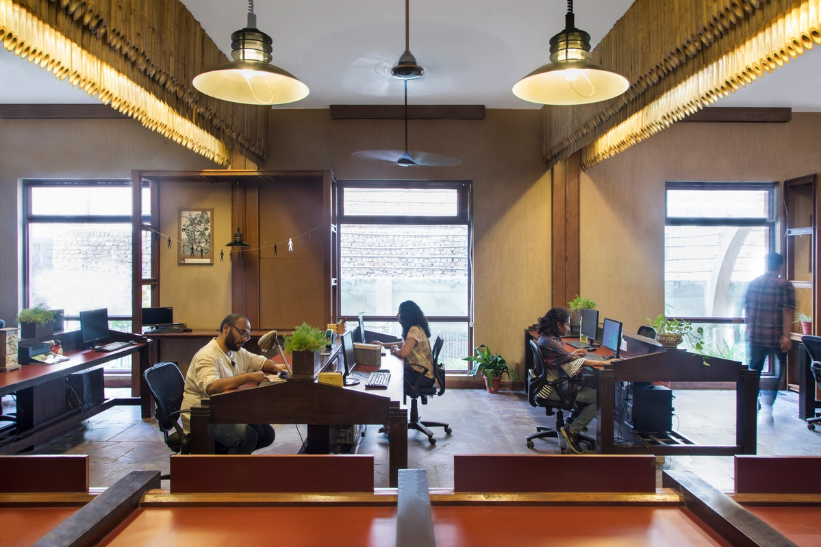 Unboxed Coworking Interiors