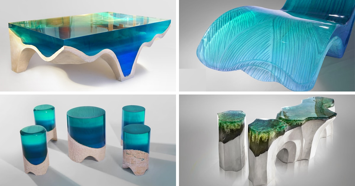 Eduard Locotau0027s DelMare Collection Is Contemporary Furniture Inspired By  Nature