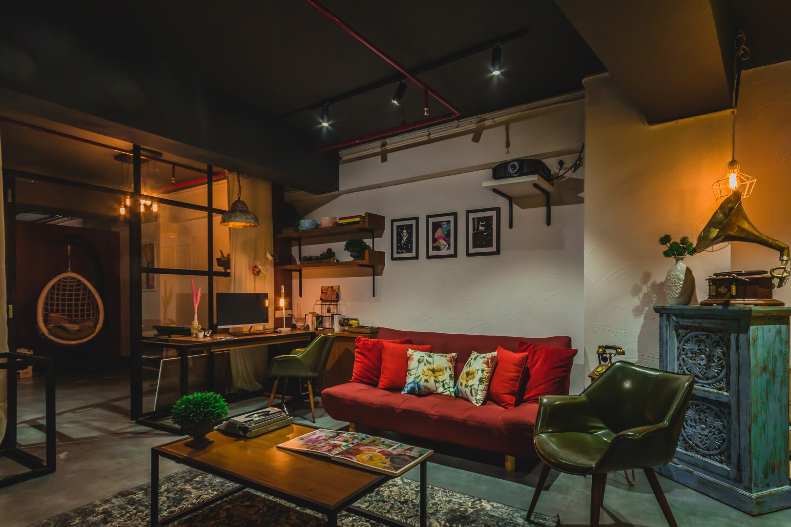 A photographer 39 s studio intrinsic designs the architects diary - Studio interior design ...