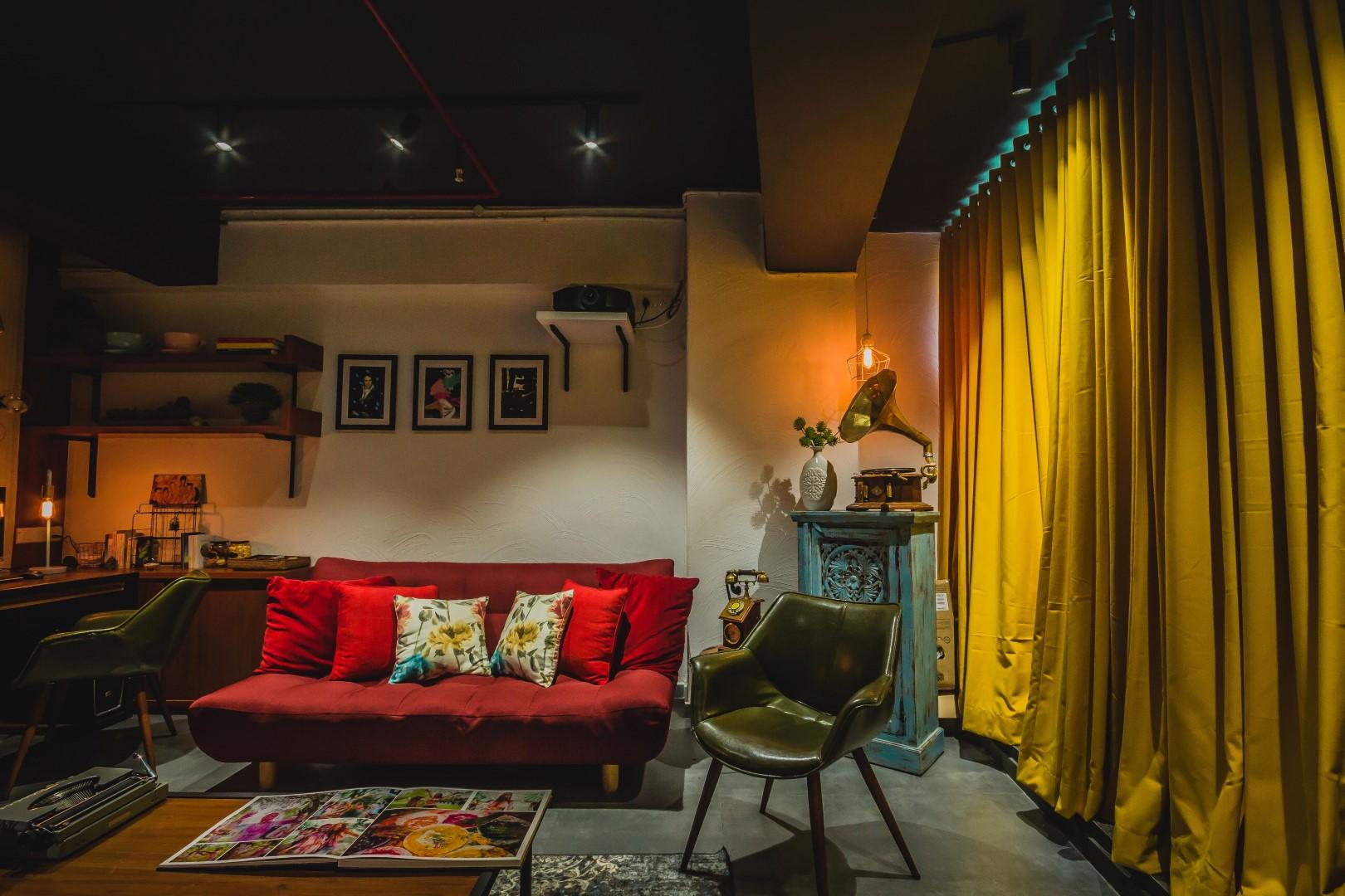 A photographer 39 s studio intrinsic designs the for Studio interior design ideas