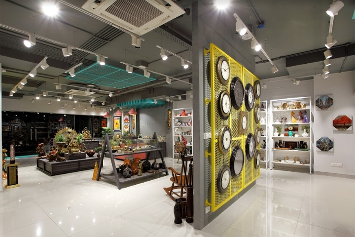 Tesor store bengaluru studio j the architects diary Home decor stores india