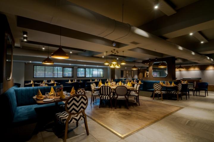 1944 Restaurant Interior Design Ahmedabad Ido Design