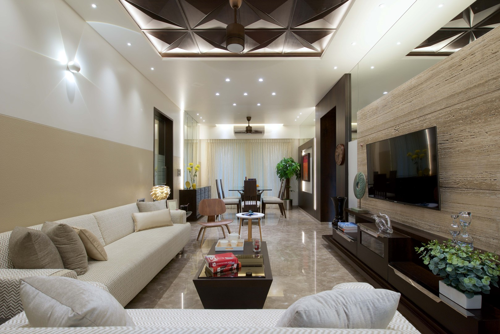 3 bhk apartment interiors at yari road interior design for Best interior designs for 3 bhk flats