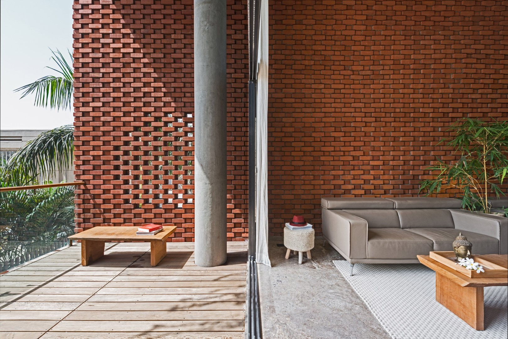 Brick facade house design work group the architects diary for Brick house designs