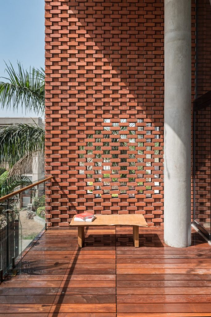 Brick facade house design work group the architects diary for Brick facade house