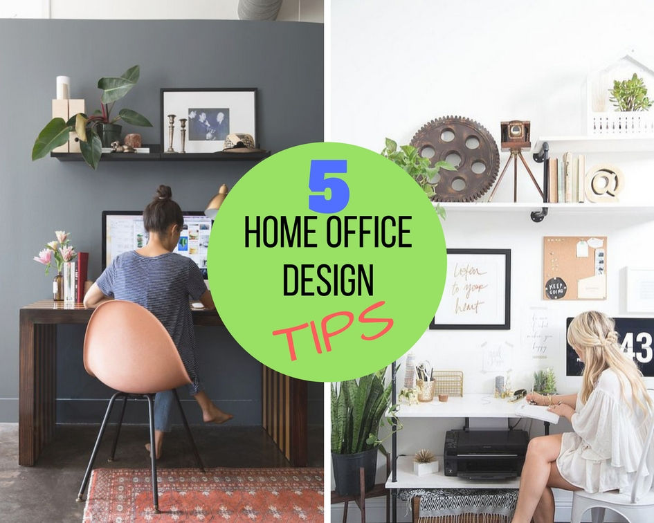 small home office 5. 5 Powerful TIPS On Home Office Design\u2026.For The Small