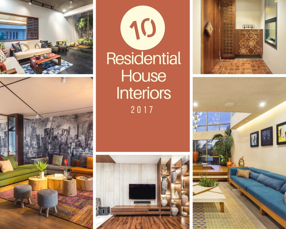 Marvelous TOP 10 Residential House Interiors In India 2017