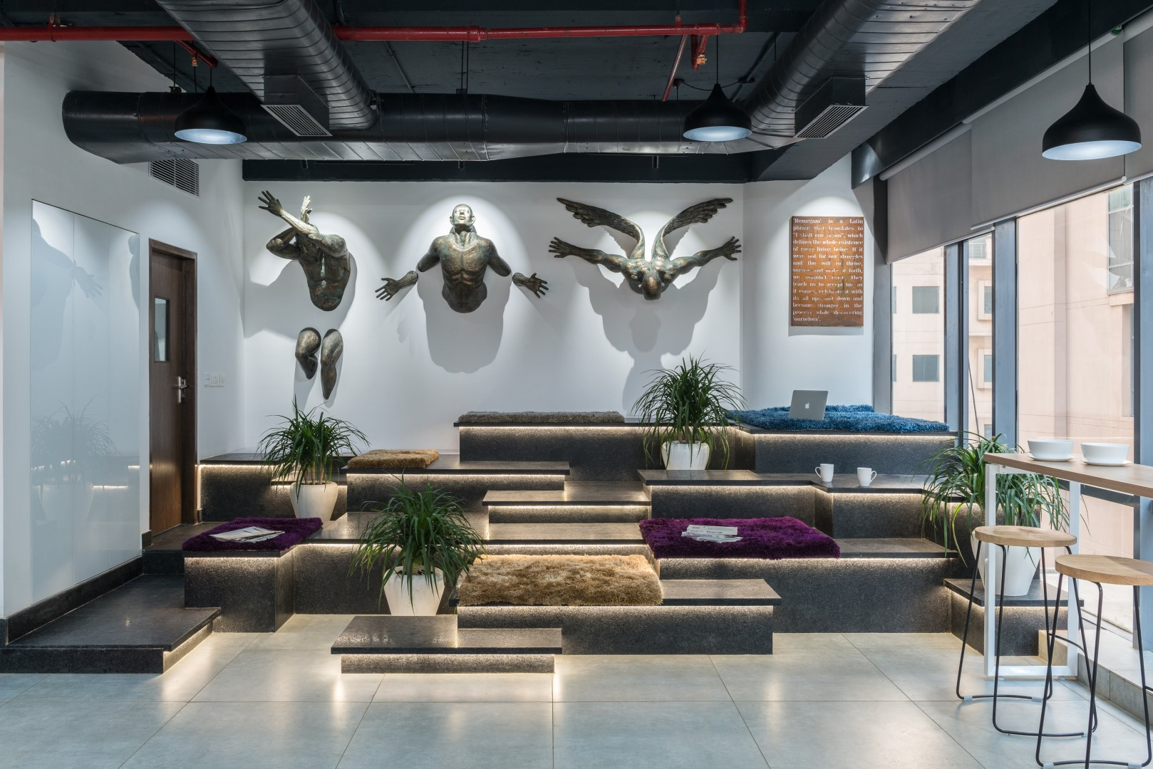 Arkiplan international 39 s new office redefining form for International seating and decor