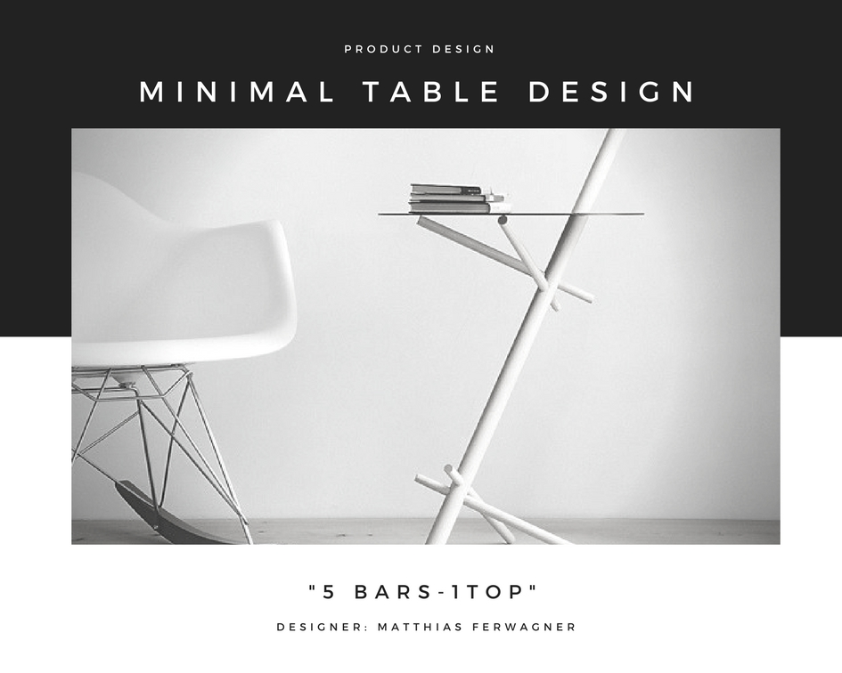 Minimal table design the architects diary for Minimal table design
