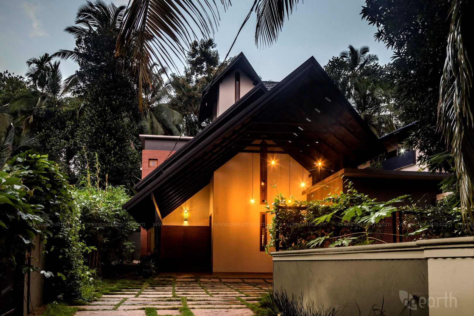 The garden house calicut de earth the architects diary for Best house design hot climate