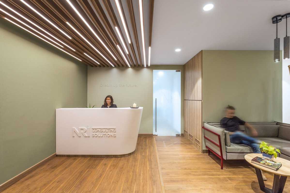 Chic And Cozy Workplace Designed by Ultraconfidentiel Design - The ...
