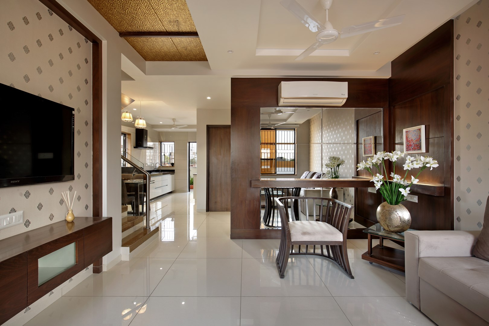 Villa interiors by sle villa interiors for alaswad villas vadodara