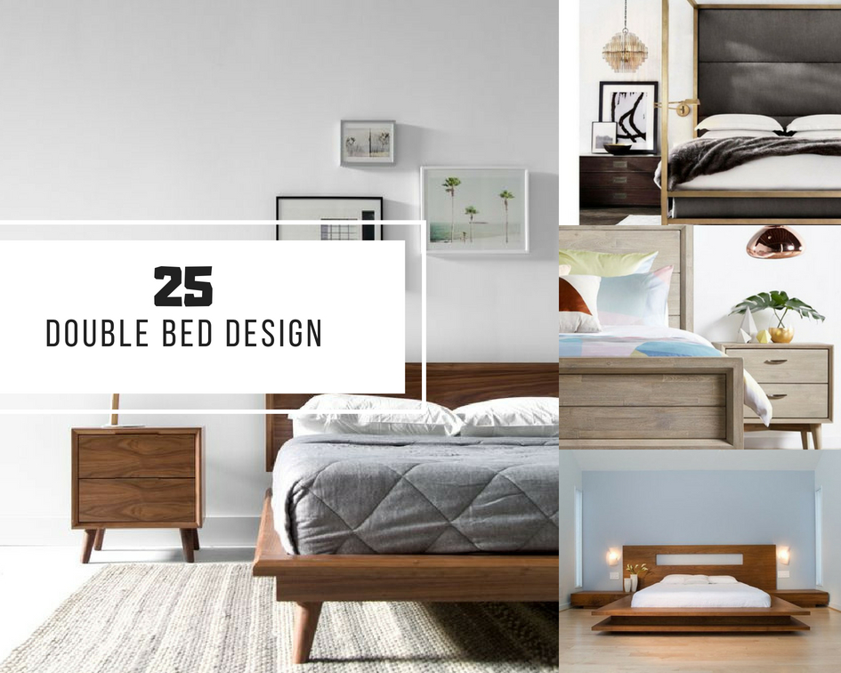 25 Double Bed Design Ideas