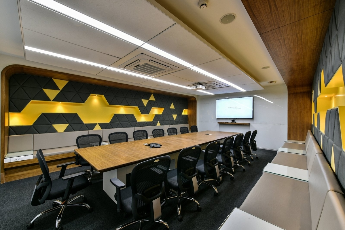 new office interior design. Photography: Prashant Bhat New Office Interior Design