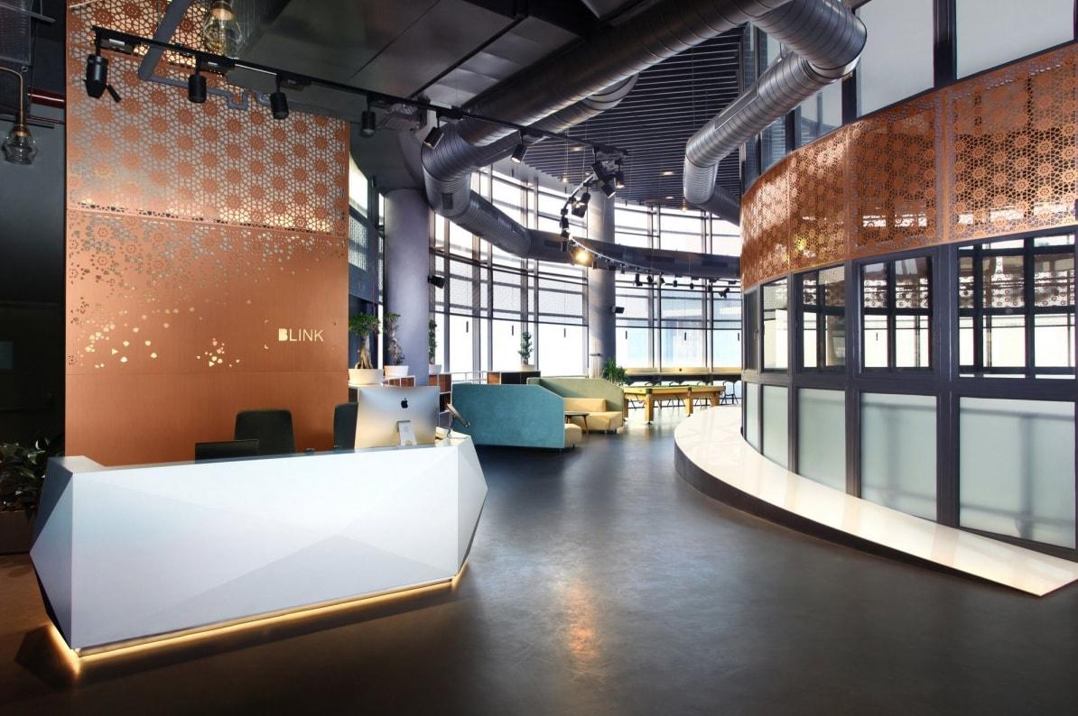 Top 10 office interior design in india the architects diary for Office interior design india