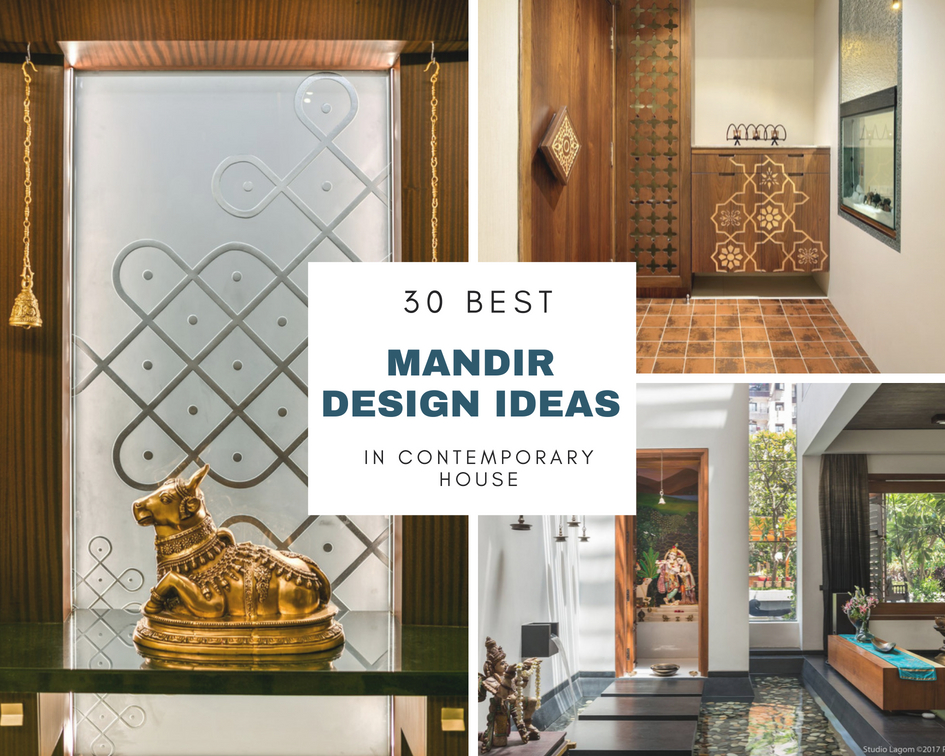 30 Best Temple-Mandir Design Ideas in Contemporary House - The ...