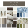30+ Colour palette for Interior that is White and Trending