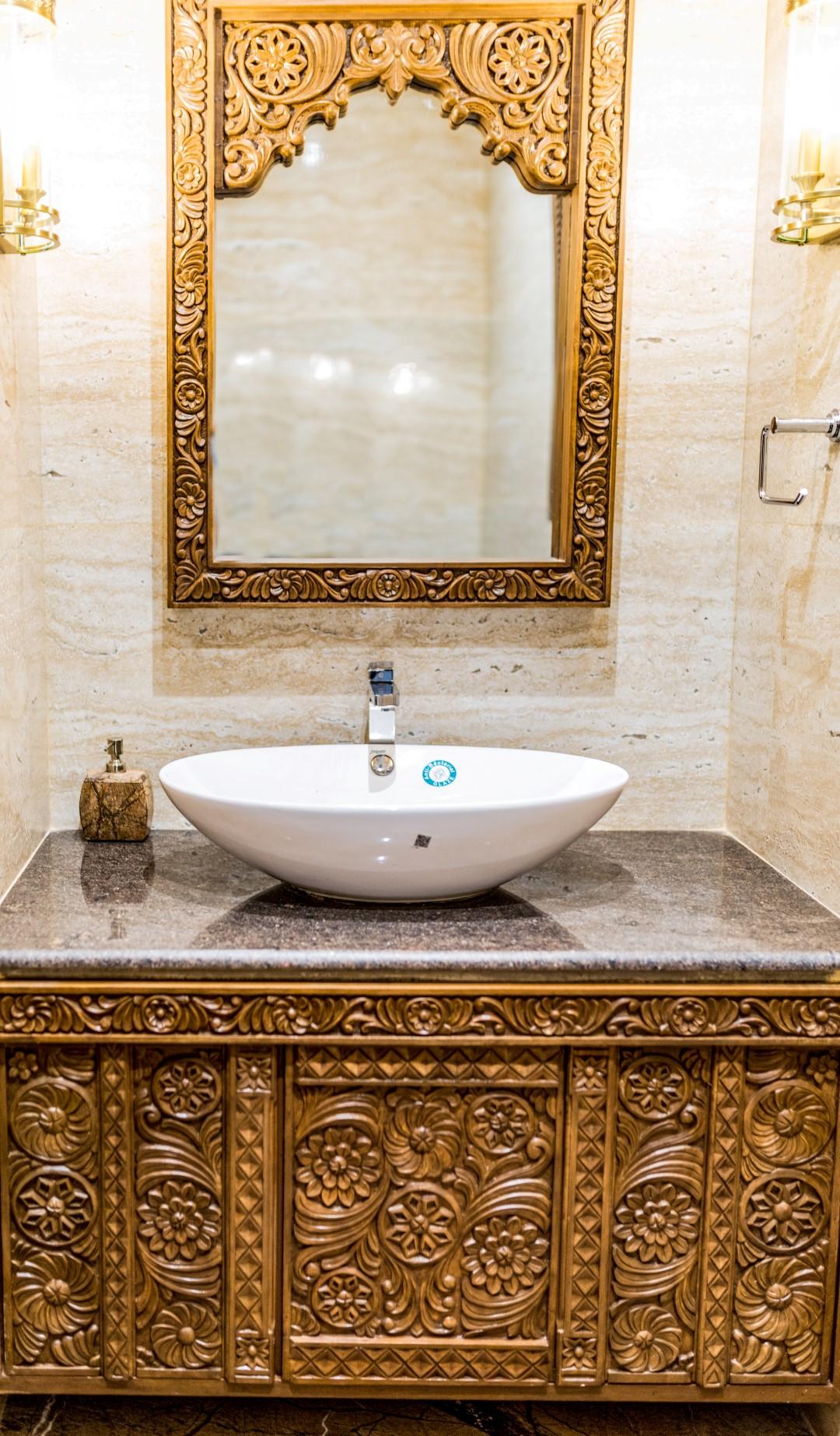 Rustic Toilet Design