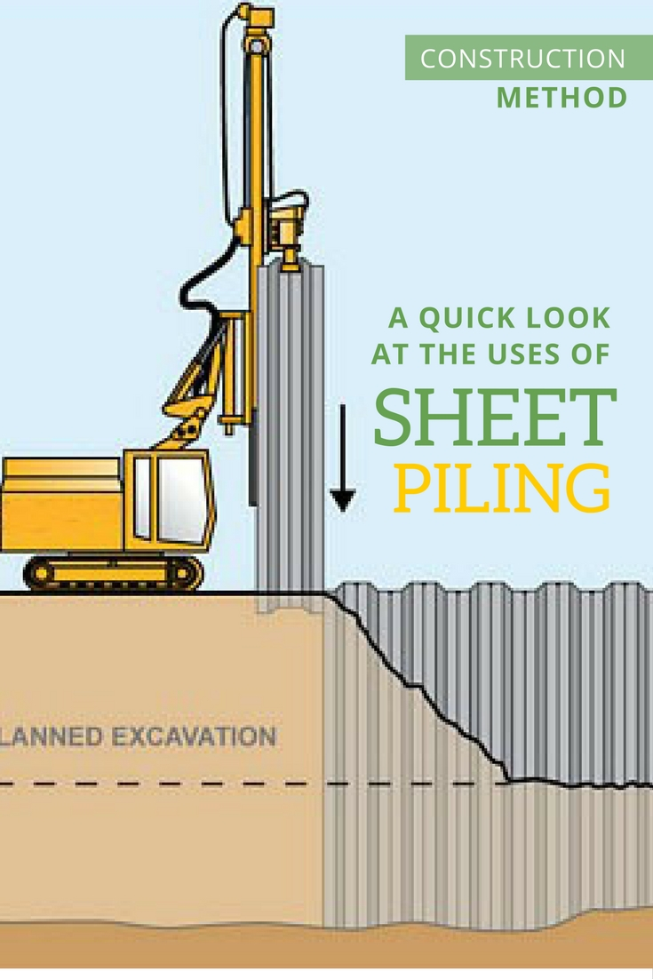 A Quick Look At The Uses Of Sheet Piling The Architects