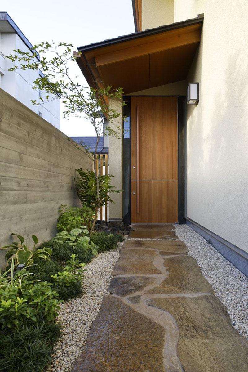 Modern House Exterior Design Front Door Ideas Wood Facade Wooden Garage Door: 40 Creative Ideas That Will Help You To Choose The Right Wooden Front Door