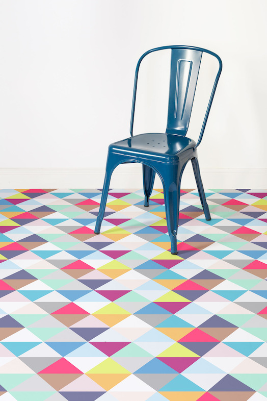 flooring geometric pattern