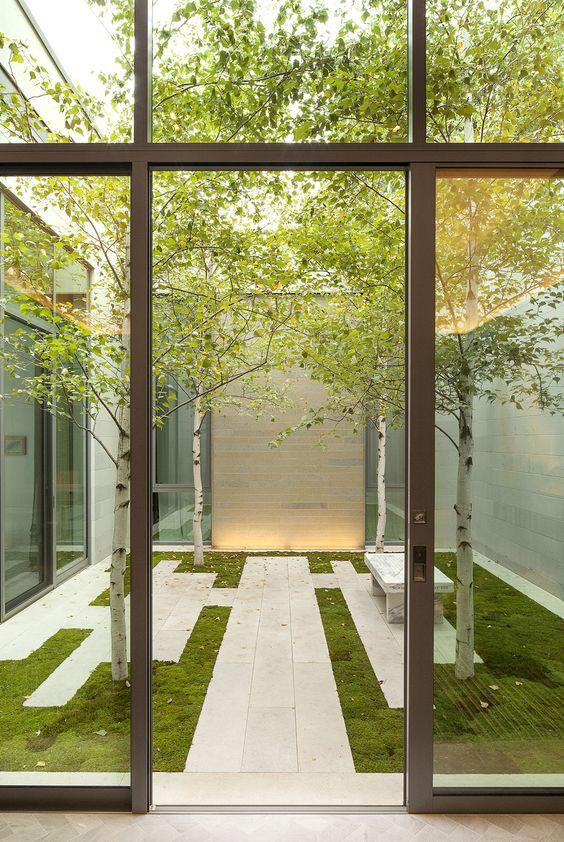 Courtyard garden design ideas (24) - The Architects Diary