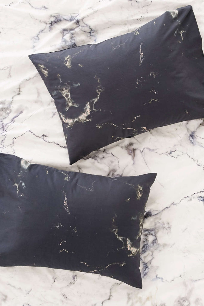 Marble pillow covers