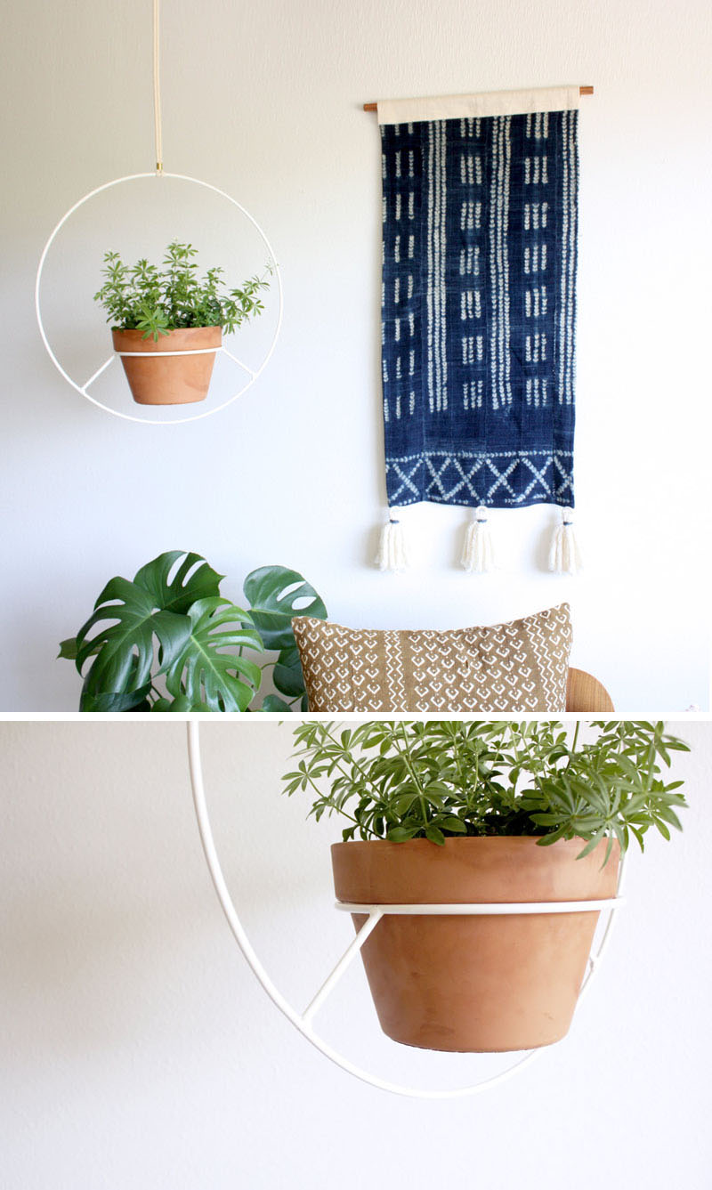 Indoor Garden Idea Hang Your Plants From The Ceiling Amp Walls Architects Diary