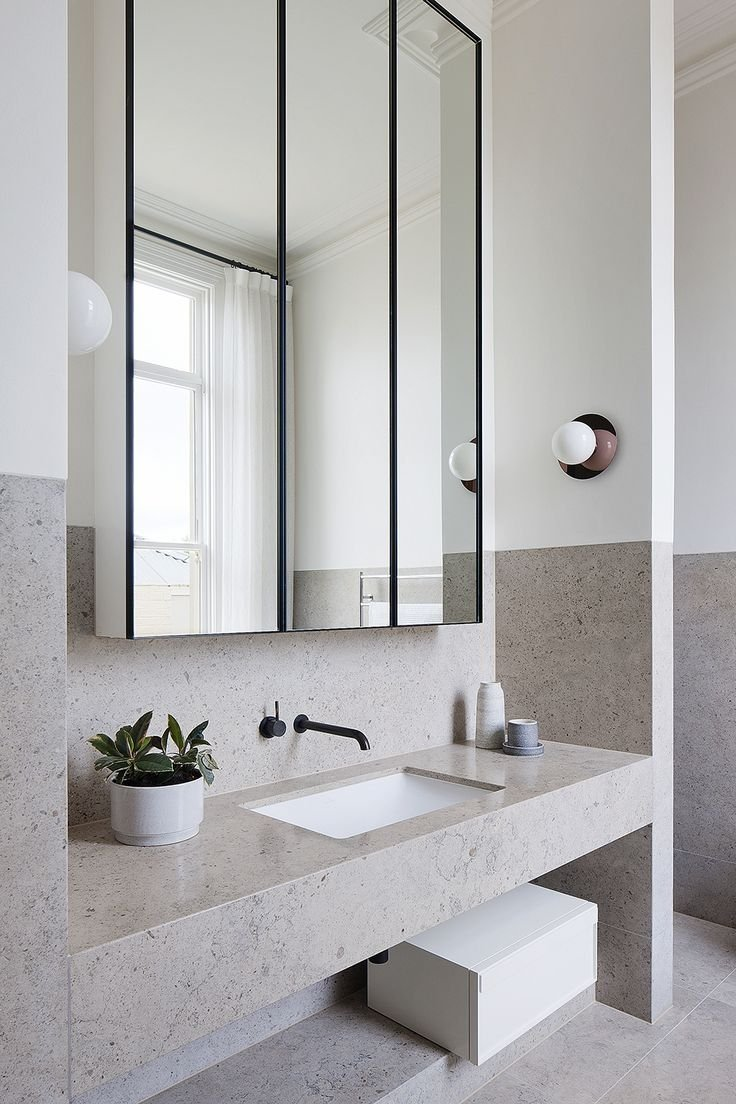 Minimal Bathroom Design Inspiration (4) - The Architects Diary