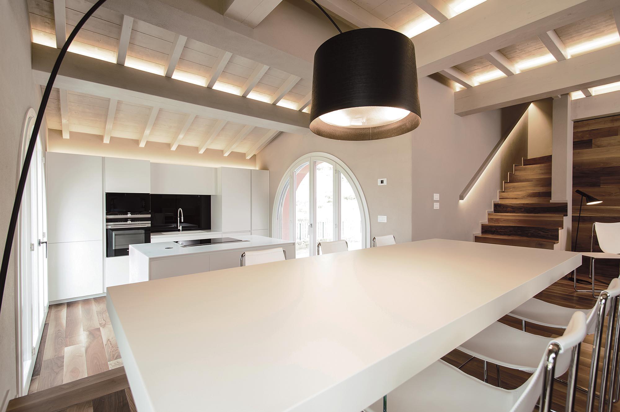 Minimal Interior Of Villa Rachele Biancalani