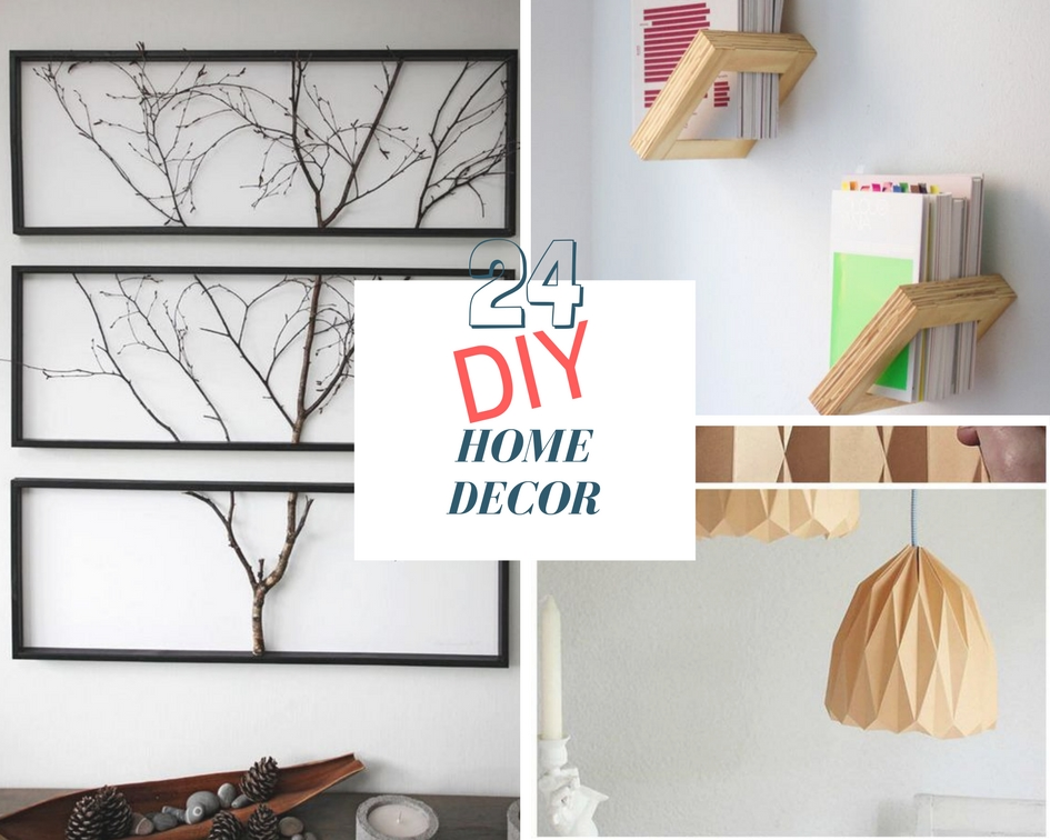 24 DIY Home Decor Ideas - The Architects Diary