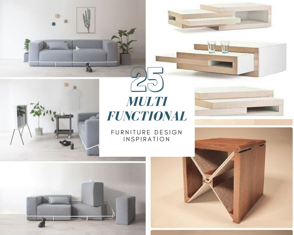 Functional Furniture Design Throughout 25 Multi Functional Furniture Design Inspiration The Architects Diary